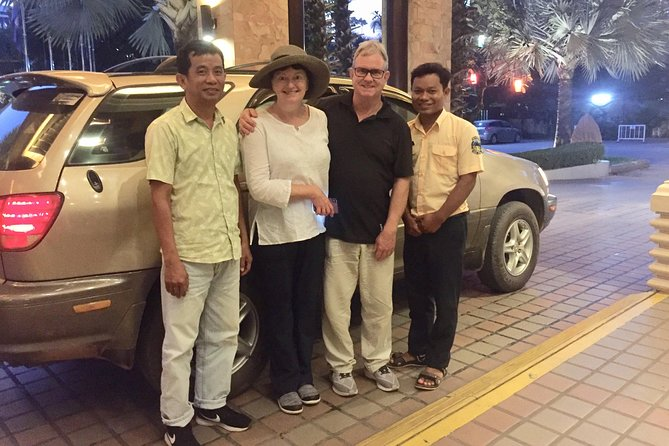 Siem Reap Airport Taxi Transfer by Cambodia Taxi Driver