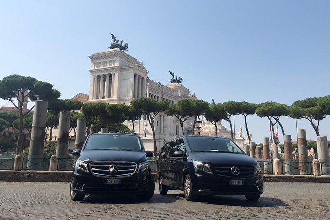 Transfer from Rome Airport to the Cruise Terminal, Civitavecchia
