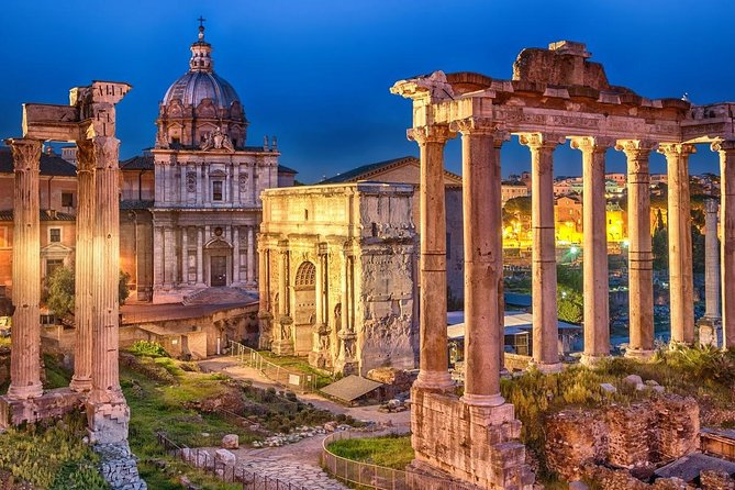 Private Guided Sightseeing Tour of Rome with Transportation