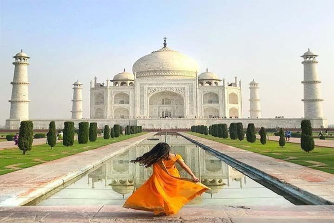 Overnight Pink City Tour by Car From Delhi