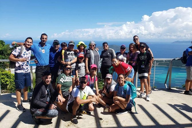 Nazmi and our happy clients in one of our tours at St Thomas, US Virgin Islands VI Top Taxi and Tours