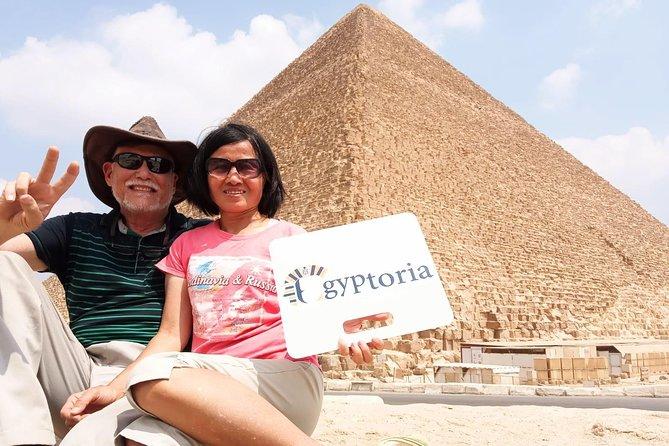 Full Day Tour to Giza Pyramids, Sphinx, Sakkara and Dahshur