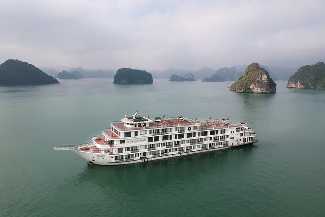 The Most Luxury 5 Star Cruise 2 Days 1 Night In Halong Bay