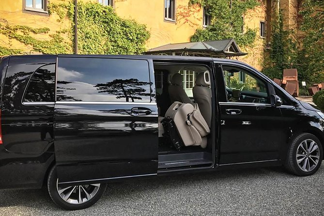 Private transfer from RAVELLO to ROME Airport or vv