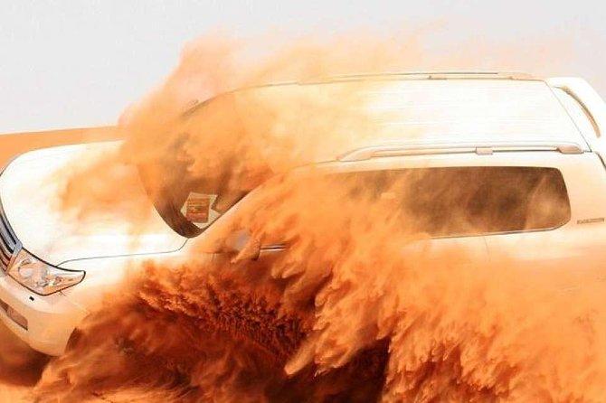Dubai Morning Safari: Red Dunes, Sandboarding, Camel Ride & Brunch at Al Khayma