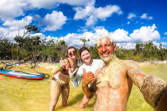 Private Paddleboard Tour In Lagoon 'Kaan Luum' + Best Tacos Ever! - Tulum