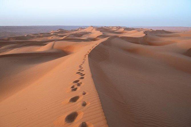 Sunset in Al Wahiba Sands. (Tramonto Al diserto)