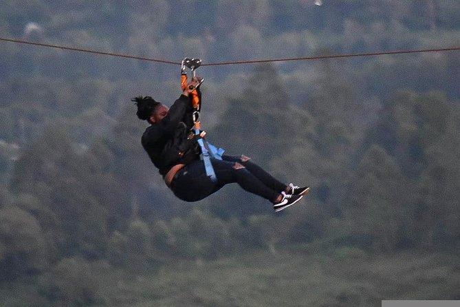 Ziplinning at ngonghills