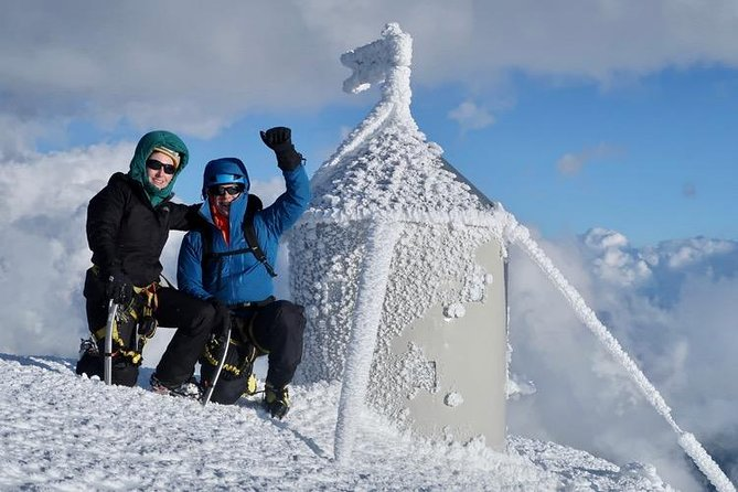 Reach the top of Slovenia in winter- Mount Triglav 2864m winter climb.