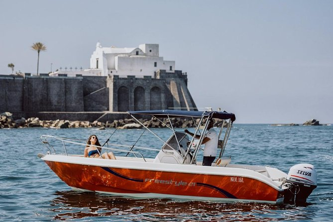 Boat trip on the island of Ischia Terminal Boat 21