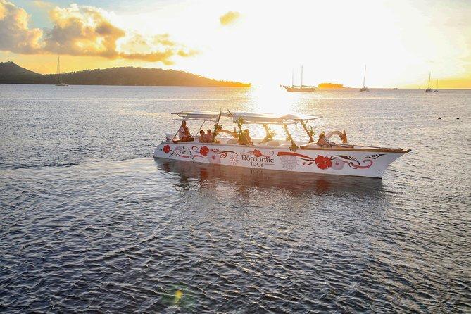 Bora Bora Sunset Cruise and Dinner at St James Restaurant