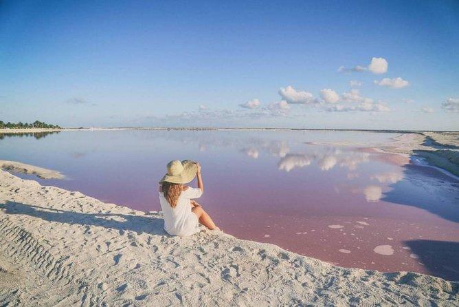 Full-Day Tour to Las Coloradas Pink Paradise in Yucatan and Rio Lagartos.