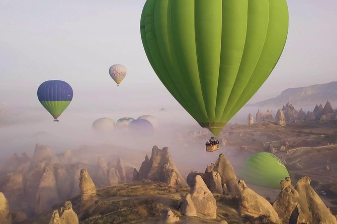 Magnificent Cappadocia : 2 Days Trip with Balloon Ride Option from/to Istanbul