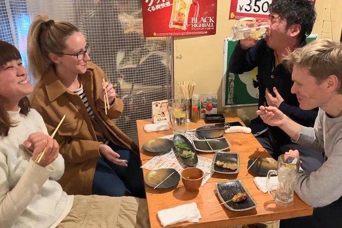 Deep Food Tour & Bar Hopping in Temma, Osaka