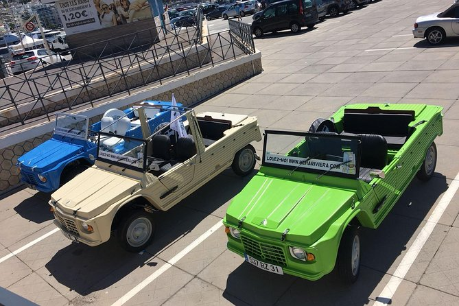 Visit the center of the city of Nice in Citroën Méhari (1 hour visit)