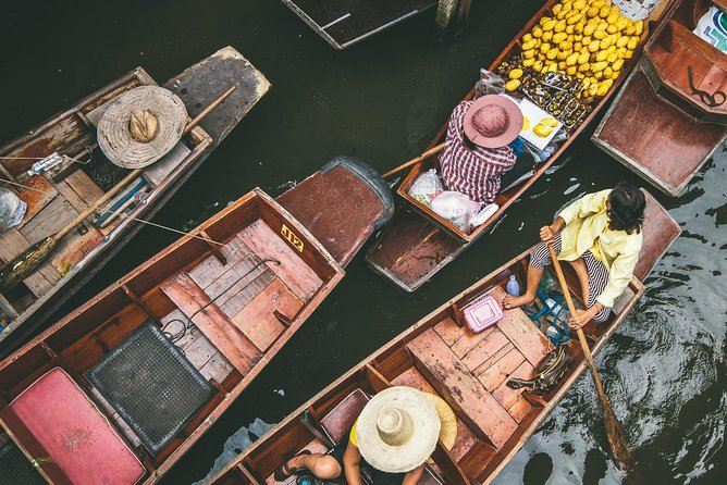 Bangkok Damnoen Saduak Floating Market & Ayutthaya by Road (Minimum 2 pax)