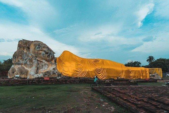 "Sunset Selfie Boat Ride @ ""Ayutthaya"" - A World Heritage Evening Trip"