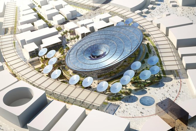 Tickets to Expo 2020 with Round Transfers from Abu Dhabi