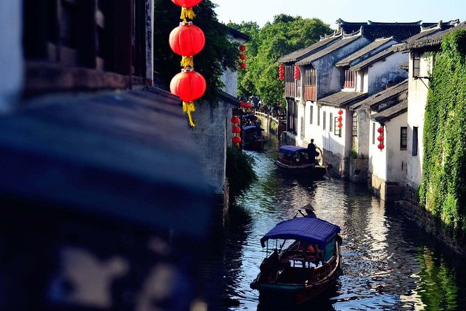 Zhouzhuang and Tongli Water Town Private Transfer Service from Shanghai