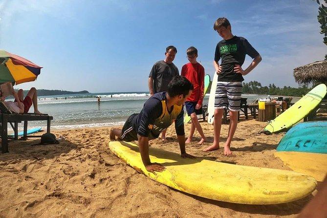 Surfing Lessons at Unawatuna