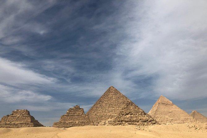 Best Of Cairo Tour Pyramids Museum Coptic Cairo & Muizz Street and Bazzar