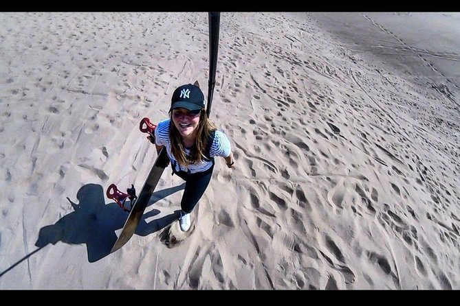Sandboard lessons in the Dunes of Iquique