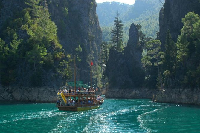 Green Canyon boat trip from Antalya and regions