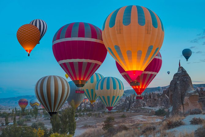 Cappadocia Hot Air Balloon Flight with transfer from Airport