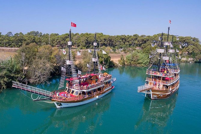 Yacht tour on the Manavgat river from Antalya and regions
