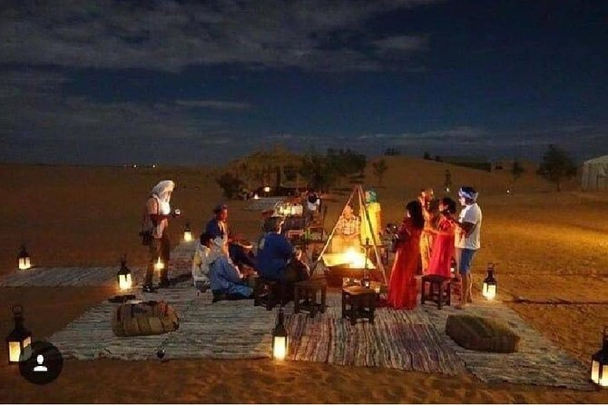 2 nights in private berber tents with camel trek, sandboarding, ATV and QUADS