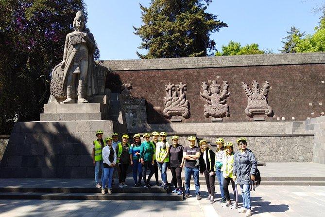 COMBO TOUR 1C MEXICO CITY FOODIE LOVERS e- bike tour + CANTINAS tour 1 day