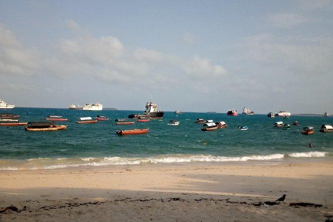 Boat to prison island with jambo Zanzibar taxi