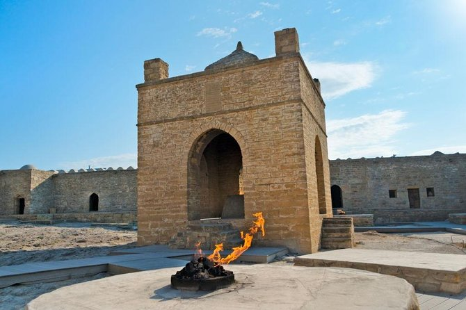 Ateshgah Fire Temple and Fire Mountain Tour, stable price for 3 person