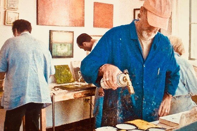 Encaustic painting workshops with Ezshwan Winding
