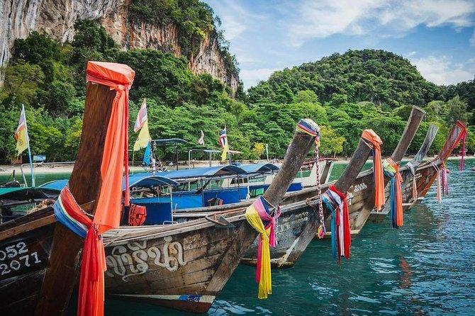 Krabi 4 Islands & Yawasam Island by Longtail Boat
