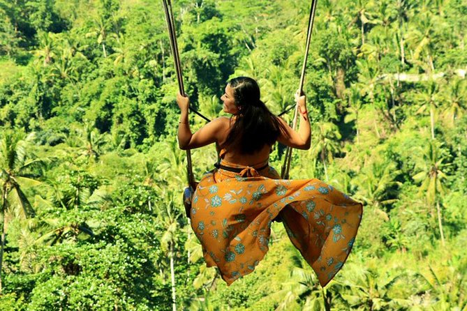 Full-Day Bali Swing Adventure & Exploring Tour to Mount Batur