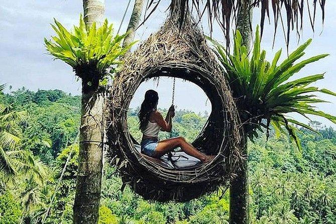 Full-Day Bali Swing Adventure & Exploring Tour to Mount Batur