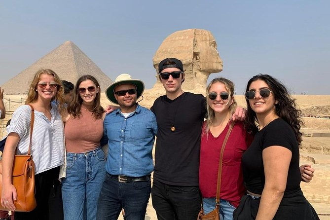 Half Day Tour To Giza Pyramids, Great Sphinx, Camel Ride & authentic lunch