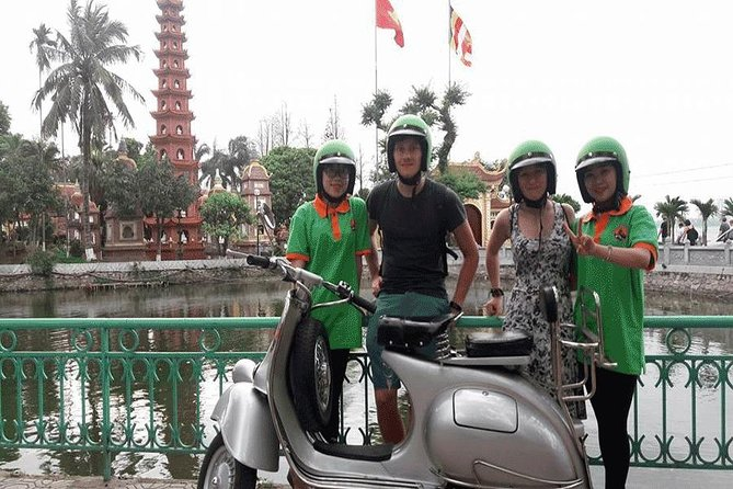Vespa Tour in Hanoi and Countryside 4.5 hours | Great & Fun and All Inlcuded