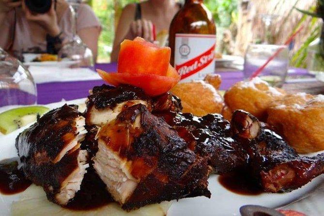 Jamaican Jerk at Scotchie's Ocho Rios