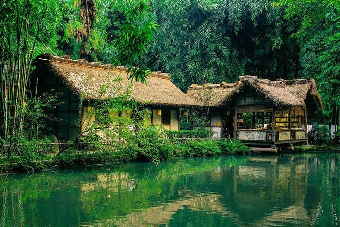 1-Day Chengdu Cultural Discovery:Jinsha,Shu Brocade Museum & Dufu Cottage Tour