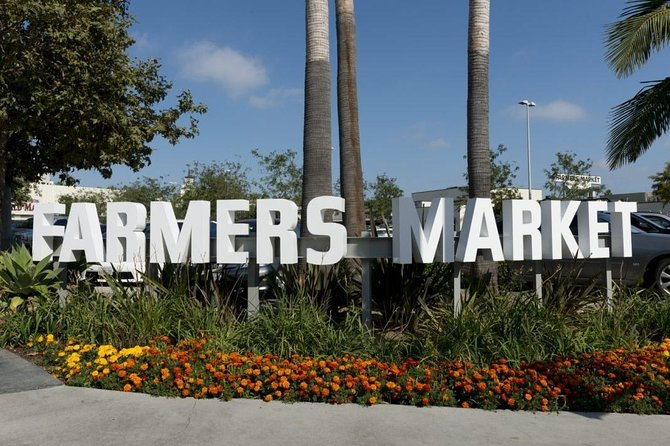 L.A. Original Farmers Market Private Transfer To Anaheim Resort