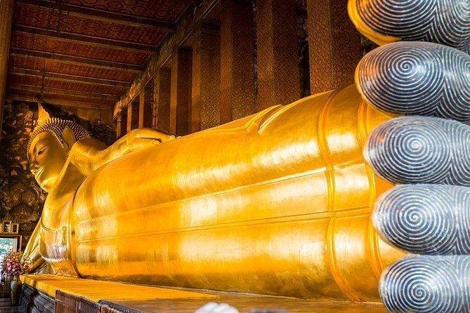 Reclining Buddha (Wat Pho) & Museum of Siam Tour from Bangkok (Multi Languages)