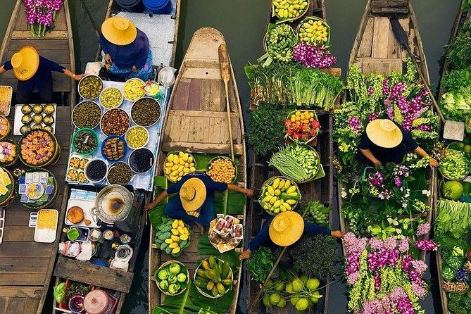 Khlong Lat Mayom & Taling Chan Local Floating Markets Tour (Multi Languages)