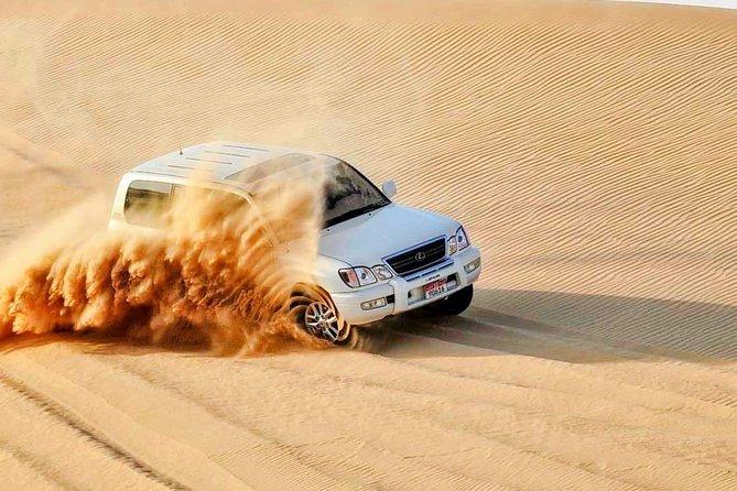 Enjoy Abu Dhabi City Tour and Desert Safari