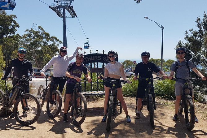 Fully guided E-Mountain Bike Tour on the beautiful Mornington Peninsula.