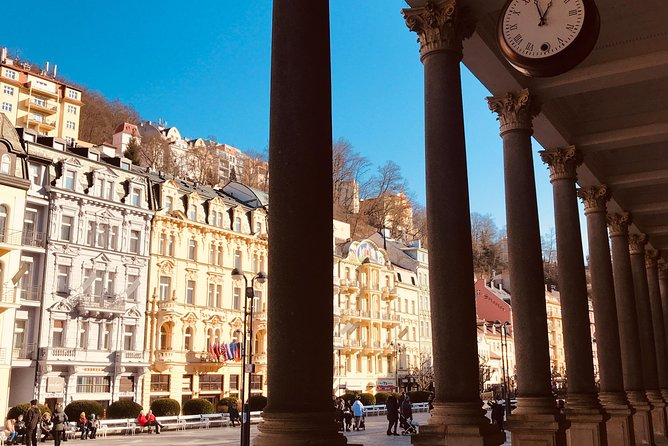 Karlovy Vary and Moser Glass Factory Private Day Trip
