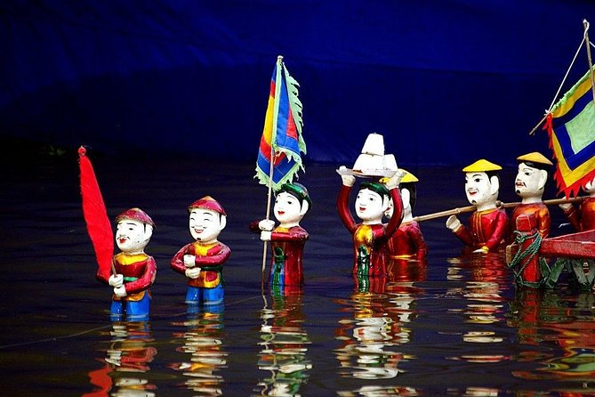 Skip the Line: Water Puppet Show at Thang Long Theatre