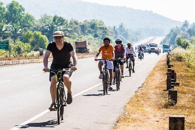 5 Hours Goa Divar and Chorao Islands Small Group Cycling Tour