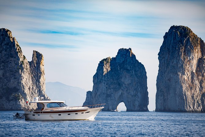 Capri and Positano Luxury Gozzo Motorboat